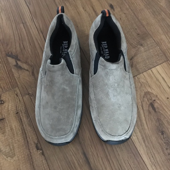RedHead Shoes | Mens Suede Moccasins
